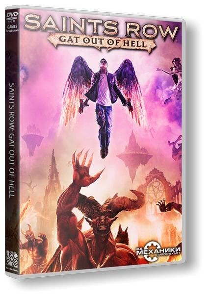 Обложка Saints Row: Gat out of Hell