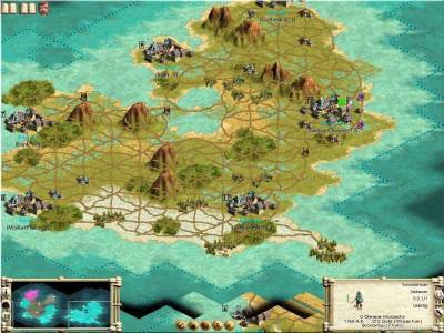 второй скриншот из Sid Meier's Civilization III: Path of Atlantes 2