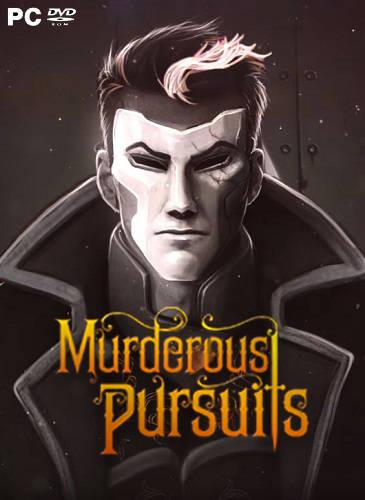 Обложка Murderous Pursuits