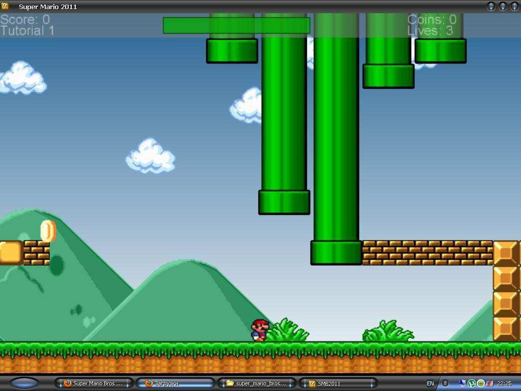 Скачать игру Super Mario Bros 2011 Infinity для PC через торрент
