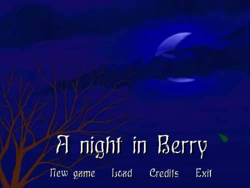 Обложка A Night in Berry