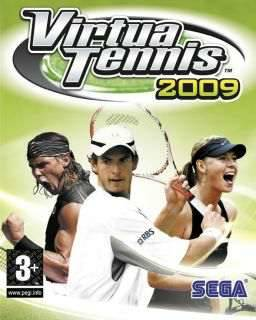 Обложка Virtua Tennis 2009 / Теннис