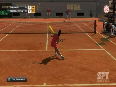второй скриншот из Virtua Tennis 2009 / Теннис