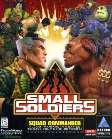 Обложка Small Soldiers: Squad Commander