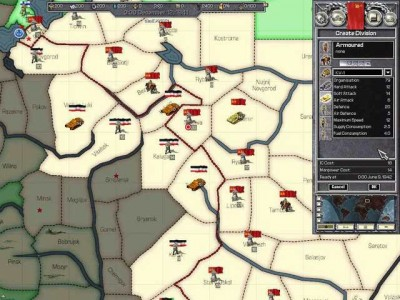 второй скриншот из Hearts of Iron