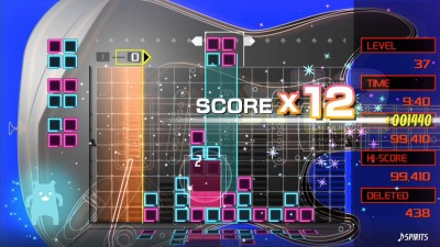 второй скриншот из LUMINES REMASTERED