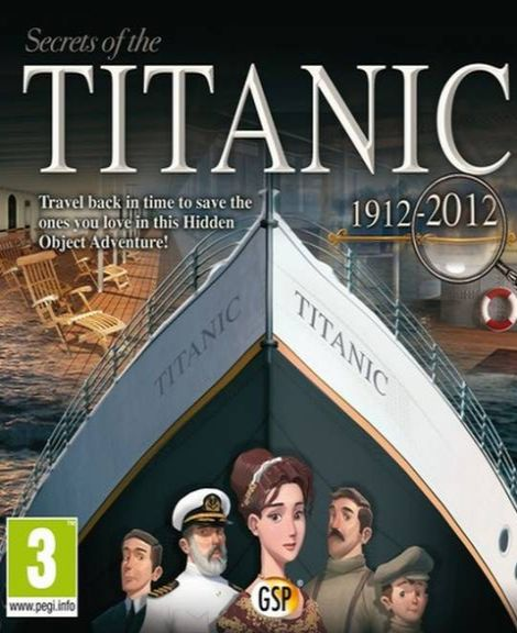 Обложка Secrets of the Titanic