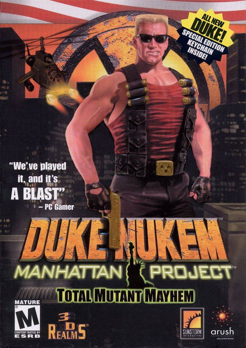 Обложка Duke Nukem: Manhattan Project