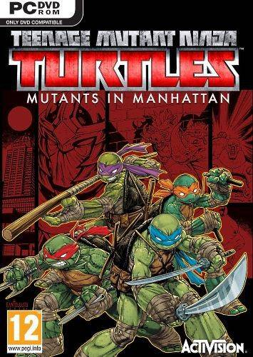 Обложка Teenage Mutant Ninja Turtles™: Mutants in Manhattan