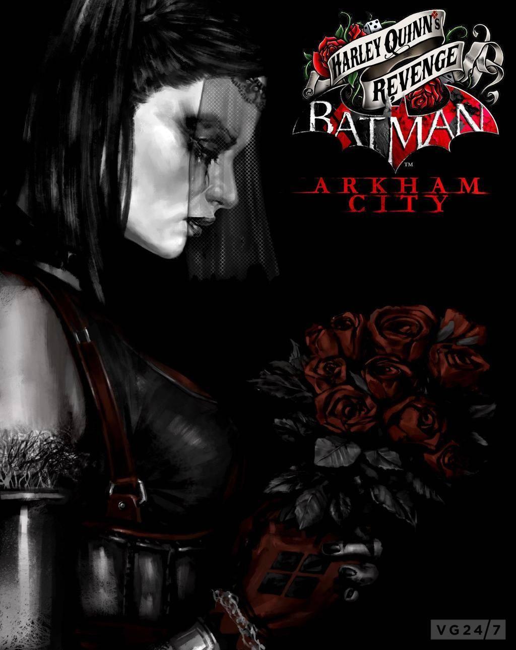 Обложка Batman: Harley Quinn's Revenge