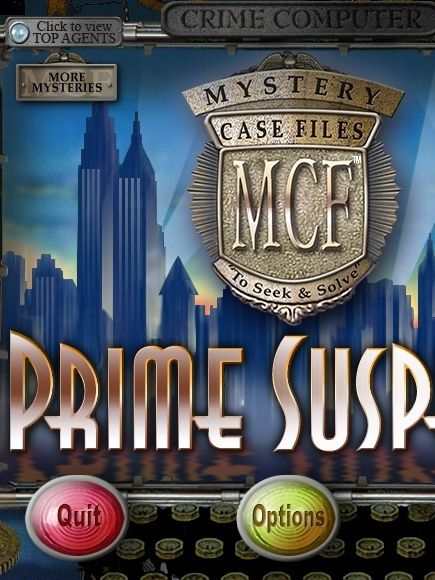 Mystery Case File 2: Prime Suspects