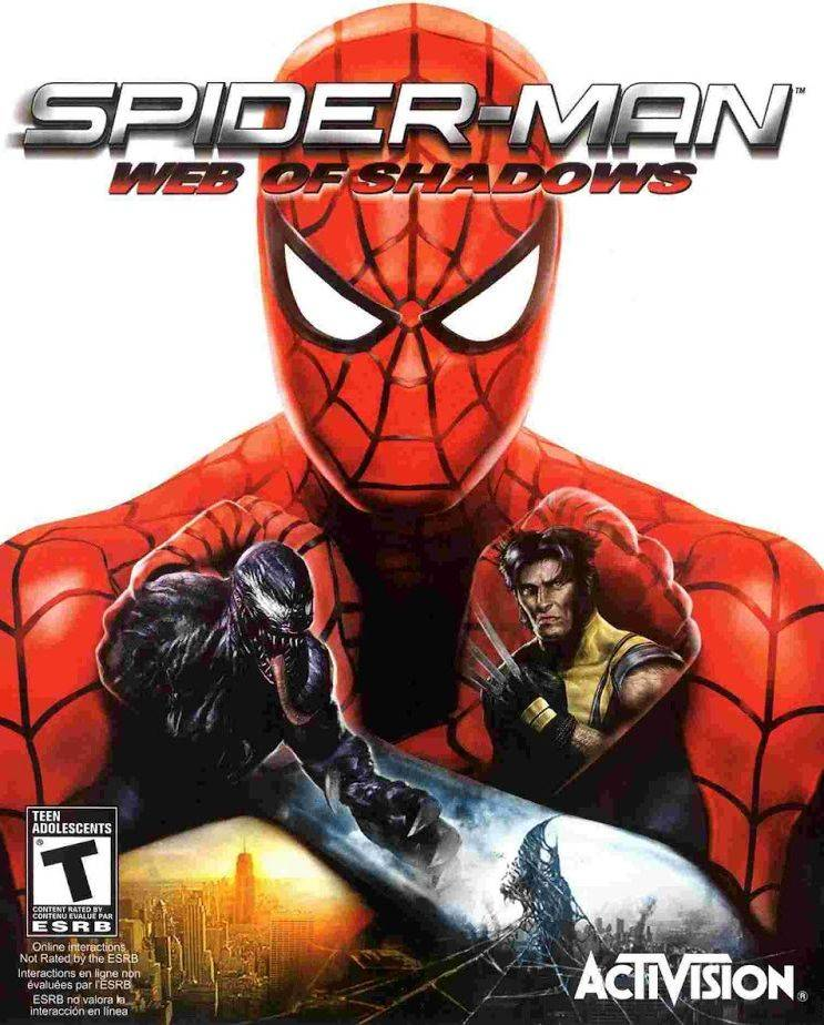 Обложка Spider-Man: Web of Shadows