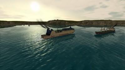 первый скриншот из European Ship Simulator