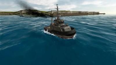 второй скриншот из European Ship Simulator