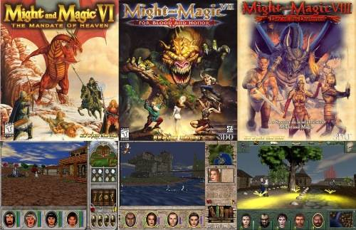 Might and Magic 6, 7, 8 merge based on mm8 engine