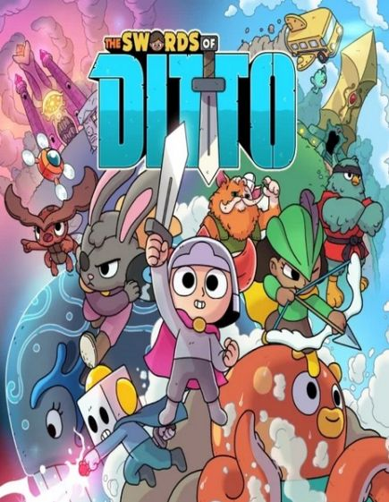 Обложка The Swords of Ditto