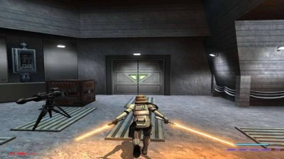 третий скриншот из Star Wars Jedi Knight Jedi Academy. Escape Yavin IV