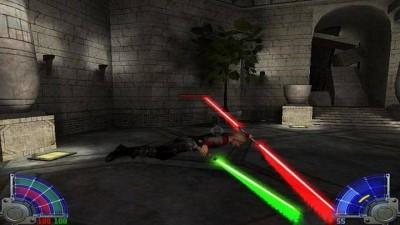 первый скриншот из Star Wars Jedi Knight Jedi Academy. Escape Yavin IV