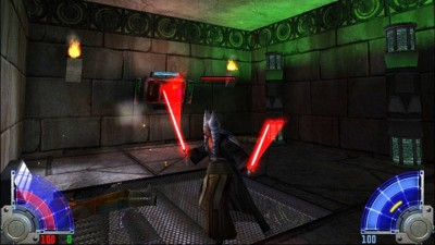 четвертый скриншот из Star Wars Jedi Knight Jedi Academy. Escape Yavin IV