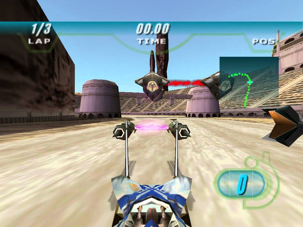 Play Star Wars Episode 1: Racer on Game Boy