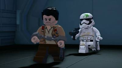 второй скриншот из LEGO Star Wars: The Force Awakens