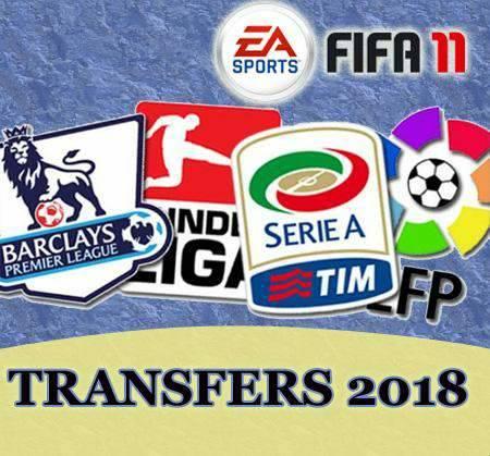 FIFA 11 с составами 2018