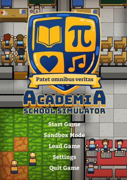 Обложка Academia: School Simulator