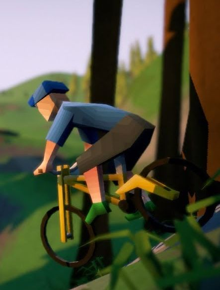 Lonely Mountains: Downhill Demo