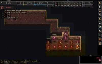 первый скриншот из ADOM (Ancient Domains Of Mystery)