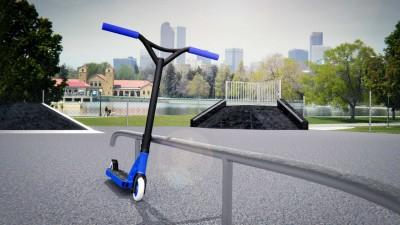 третий скриншот из Freestyle Scooter Game