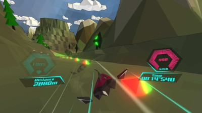 третий скриншот из PolyRace