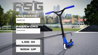 первый скриншот из Freestyle Scooter Game