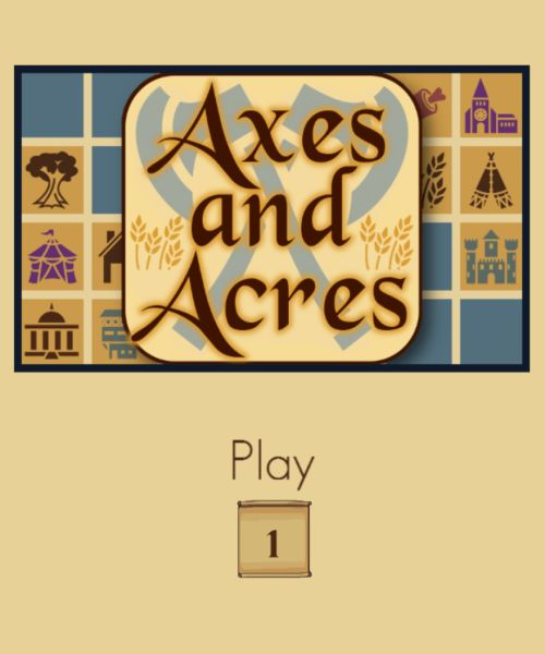 Обложка Axes and Acres