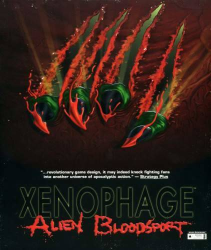 Обложка Xenophage: Alien Bloodsport
