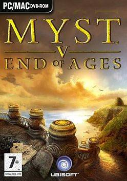 Обложка Myst V: End of Ages