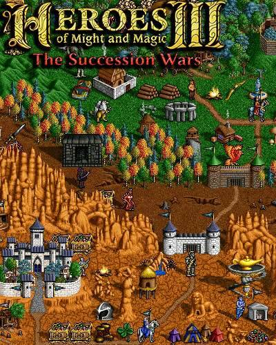 Обложка Heroes of Might and Magic 3: The Succession Wars