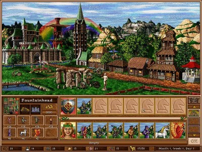 второй скриншот из Heroes of Might and Magic 3: The Succession Wars