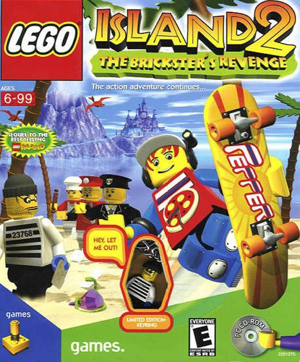Lego Island 2:The Brickster's Revenge