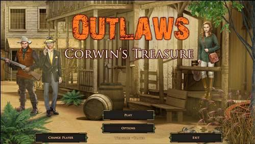 Обложка Outlaws: Corwins Treasure