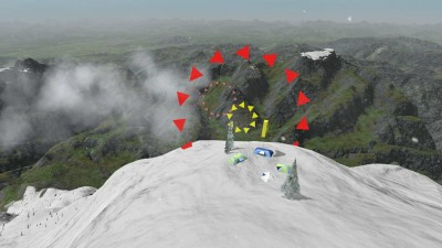 второй скриншот из Mount Wingsuit