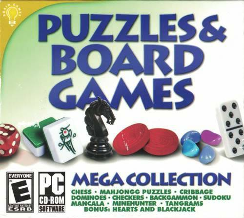 Обложка Puzzles & Board Games - Mega Collection