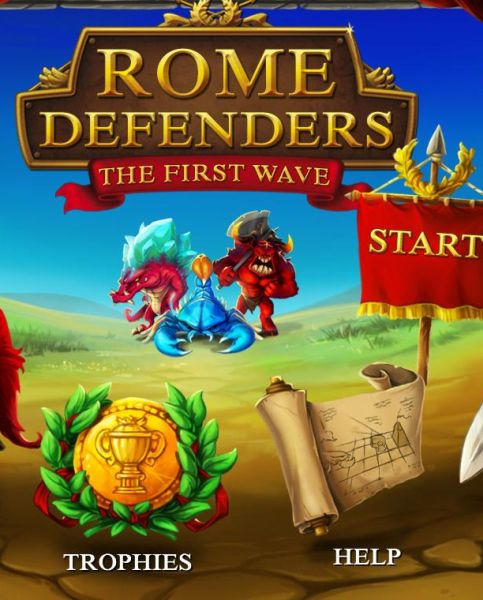 Обложка Rome Defenders: The First Wave