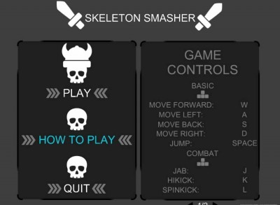 второй скриншот из SkeletonSmasher
