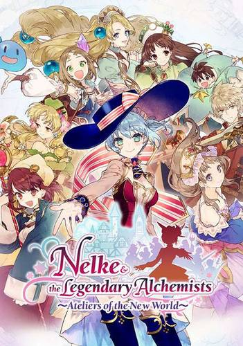 Обложка Nelke & the Legendary Alchemists ~Ateliers of the New World~