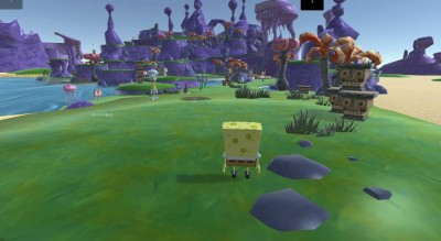 четвертый скриншот из SpongeBob SquarePants: Battle For Bikini Bottom HD