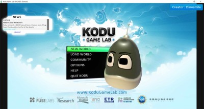 второй скриншот из Kodu Game Lab