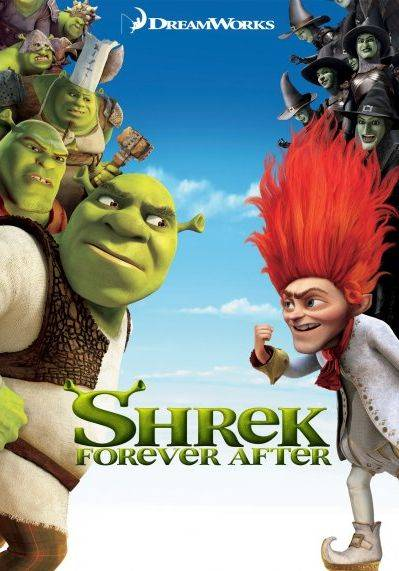 Обложка Shrek Forever After: The Game