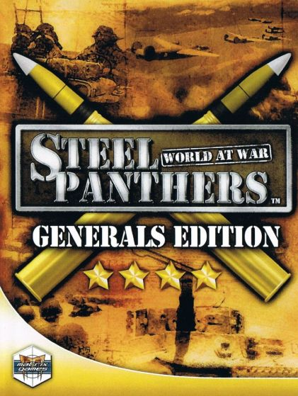 Обложка Steel Panthers: World at War