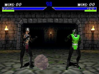 третий скриншот из Mortal Kombat 4: Revolution - Noob Saibot Empire