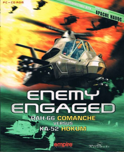 Обложка Enemy Engaged: RAH-66 Comanche vs. KA-52 Hokum